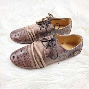 Bed | Stu Slingshot Leather Cap Toe Oxford Shoes 7